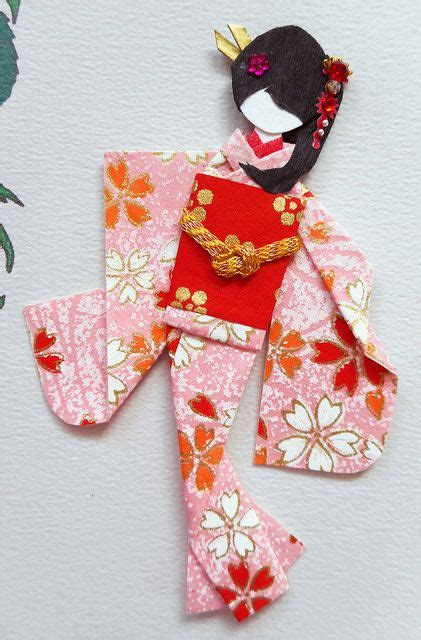 Origami Paper Doll - 17 best images about dm japanese paper doll on