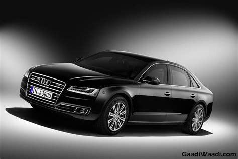 Audi 8 L by Audi A8 L Security Launched At 2016 Delhi Auto Expo