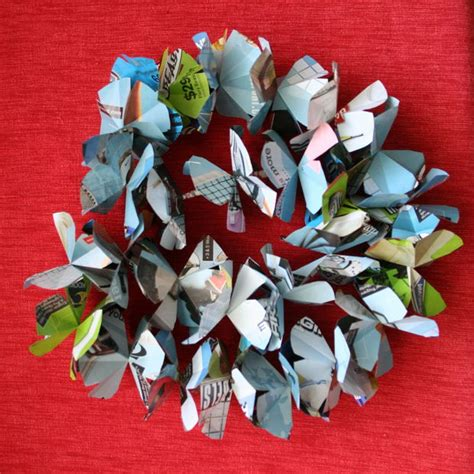 How To Make Recycled Paper Flowers - diy paper flowers