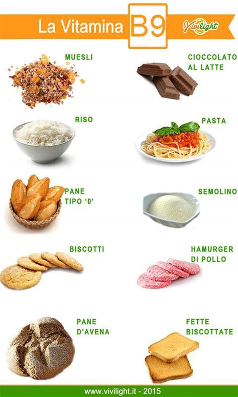 acido folico in quali alimenti si trova vivilight vitamina b9 propriet 224 e cibi che la contengono