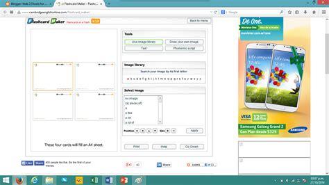 flash card maker cambridge web 2 0 tools for elt make flashcards with cambridge