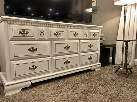 dresser in living room makeovermonday living room makeover adding my 30