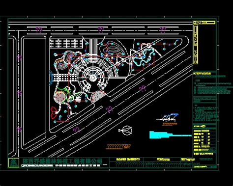 free download autocad layout plan green park construction plans free download