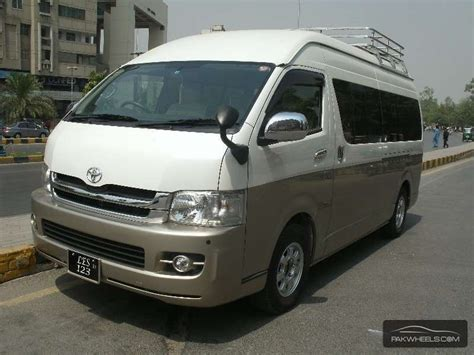 2010 Toyota Hiace Toyota Hiace 2010 For Sale In Lahore Pakwheels