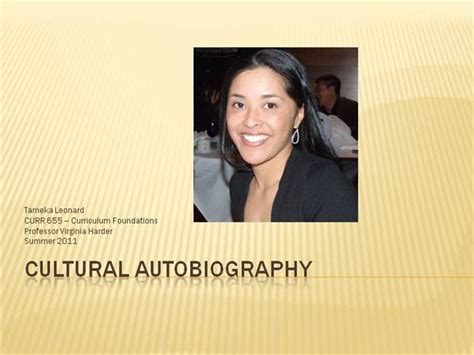 biography exle ppt cultural autobiography authorstream