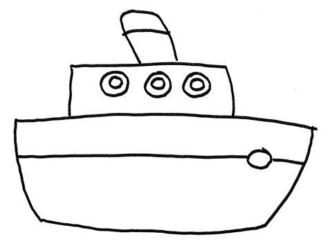 bootje tekenen barcos para pintar