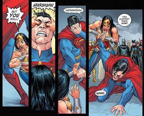 superman vs wonder woman injustice gods among us