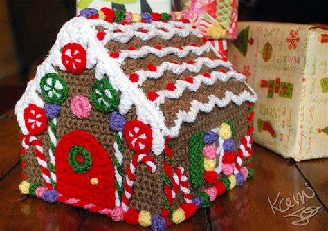 pattern to make gingerbread house crochet gingerbread house by kamijo on deviantart