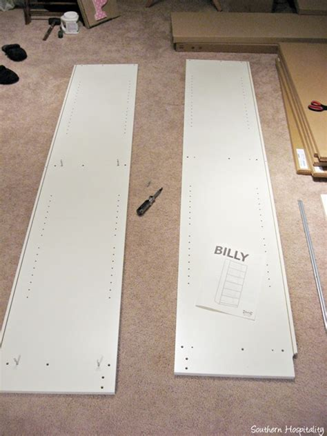 how to put together a wardrobe box putting together ikea billy bookcase southern hospitality