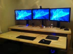 Home Built Computer Desk Home Made Computer Desk