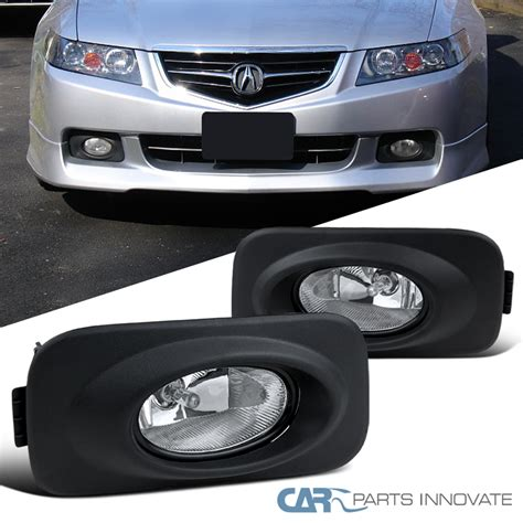 acura tsx fog light 2004 2005 acura tsx clear fog lights driving bumper l