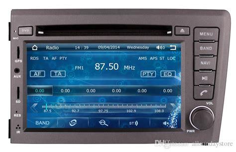 din car dvd player gps navigation  volvo    radio bluetooth tv cd usb aux map