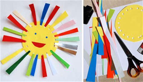 lade colorate atividades criativas sol de papel