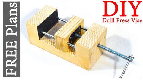 shop  wooden vise  plans youtube