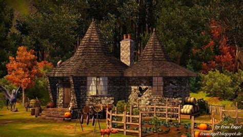 what house is hagrid in frau engel hagrid 180 s home sims 4 downloads