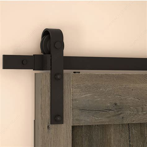 Wall Mount Sliding Door Hardware by Rustic Barn Door Wall Mount Sliding Door System For 1 Wood