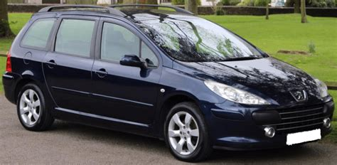 peugeot estate cars for sale 2006 peugeot 307 sw 2 0 16v automatic 5 door estate cars