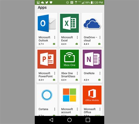 microsoft apps for android 10 must microsoft apps for your android phone zdnet