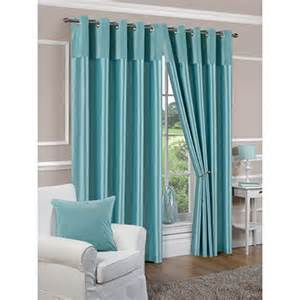 duck egg blue bedroom curtains faux silk lined duck egg blue eyelet curtains