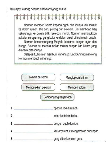 format penulisan novel malaysia latihan penulisan b melayu tahun 3 bahasa malaysia
