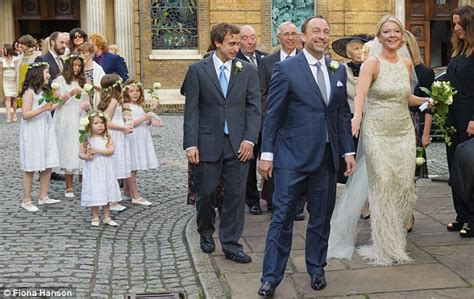 Wikipedia founder Jimmy Wales marries Tony Blair's former diary secretary in star studded