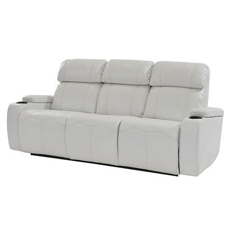 power motion sofa magnetron white power motion sofa el dorado furniture