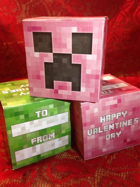 diy minecraft valentines pin by lovey minnis on valentines