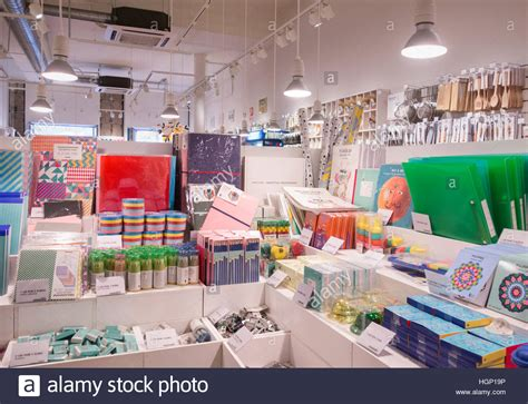 flying tiger store flying tiger copenhagen store in spain stock photo