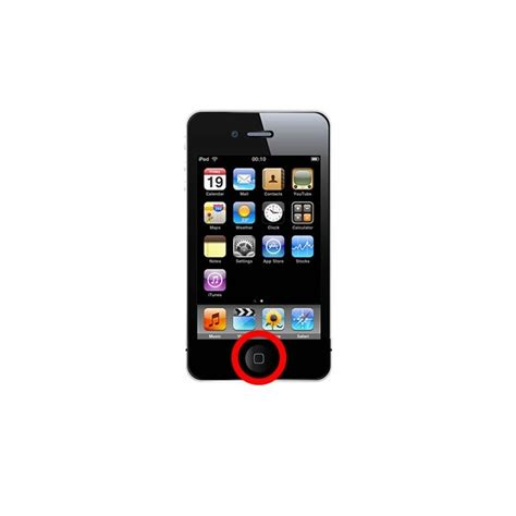 Homebutton Iphone New Home Button Iphone Itouch apple ipod 4 touch home button repair service bolton uk
