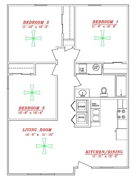 floor plans well energy efficient house fifth homes small home