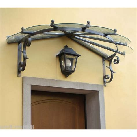 tettoie in acciaio inox pensilina tettoia acciaio inox ferro battuto