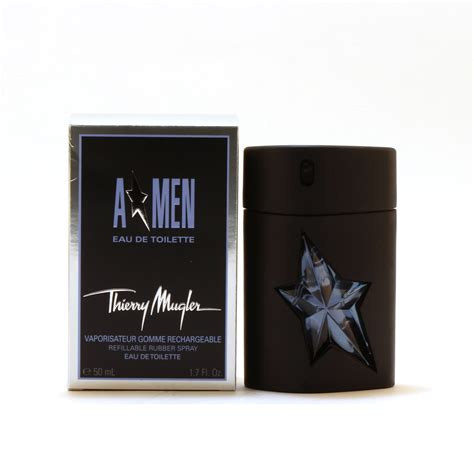 Thierry Mugler Amen Rubber Gift Set a by thierry mugler edt spray rubber refillable thierry mugler perfume discount