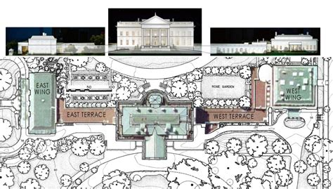 The White House Floor Plan by New Whitehousemuseum Org