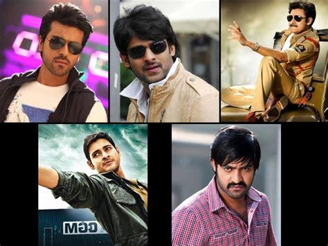 In Telugu Industry by Top 5 Tollywood Heroes Top 5 Actors In Telugu