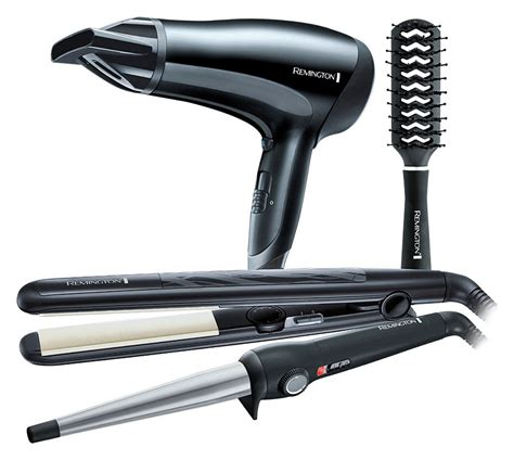 Philips Hair Dryer And Straightener Gift Set n go hair straightener brush black
