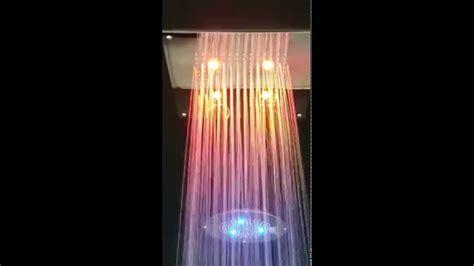 soffione doccia led soffione doccia a led cromoterapia bagno italiano