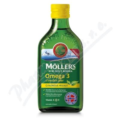 Mollers 250 Ml mollers omega 3 citron 250ml