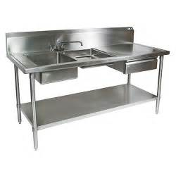Cing Kitchen Table With Sink Best 20 Stainless Steel Prep Table Ideas On