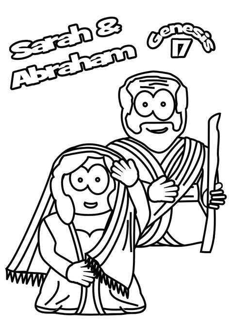 coloring page abraham and sarah abraham and sarah coloring pages printable coloring home
