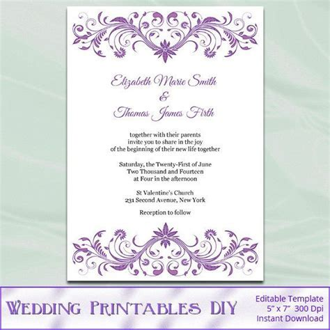47 best images about Wedding Templates on Pinterest