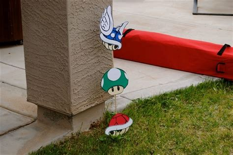 Mario Kart Decor Mario Bros