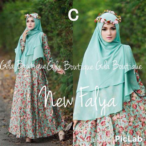 I Baju Muslim Gamis Kode Aly 310 new falya kode c baju muslim gamis modern
