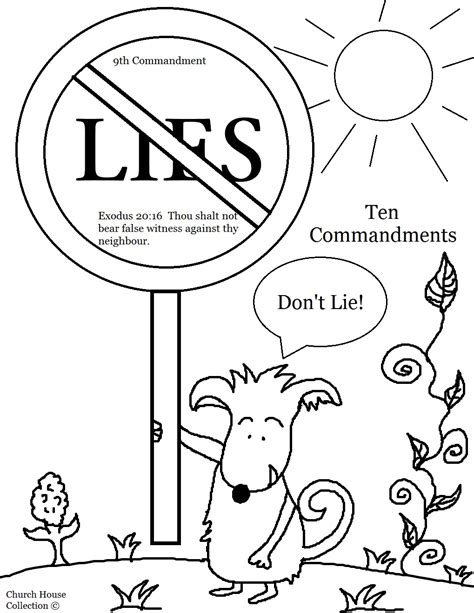 Free Coloring Pages Of Stone Tablets Coloring Pages 10 Commandments