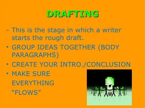 draft no 4 on the writing process books writing process ppt