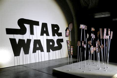 Red hong yi illuminates the dark side with star wars shadow artworks