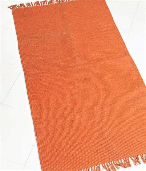Fabindia Rugs fabindia orange cotton woven dhurrie buy fabindia orange cotton woven dhurrie