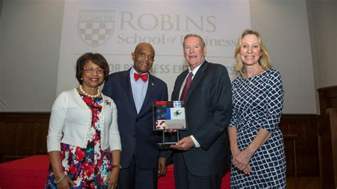 Of Richmond Evening Mba by Reunion Weekend Alumni Of Fame Induction Robins
