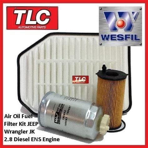 Jeep Wrangler Jk Filter Wk57 Air Fuel Filter Kit Jk Jeep Wrangler 2 8 Td Crdi