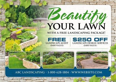 lawn care advertisement safero adways