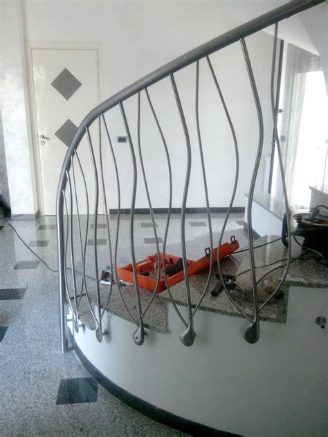 ringhiera scala interna acciaio scale interne schinco